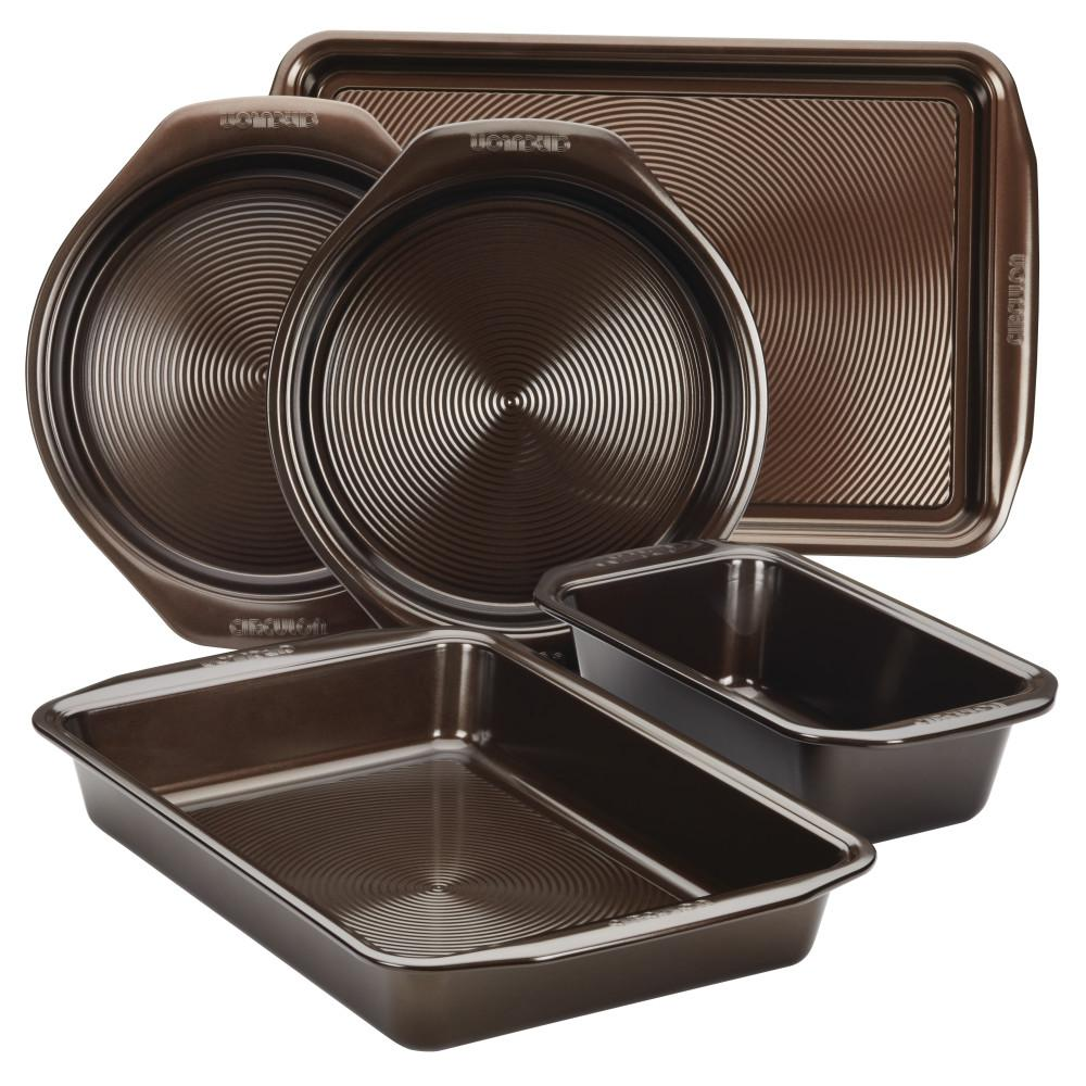Circulon Circulon 5-Piece Non-Stick Bakeware Set, Brown
