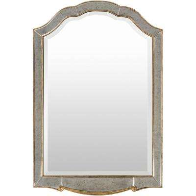 Oken 47.64 in. x 31.5 in. Contemporary Framed Mirror