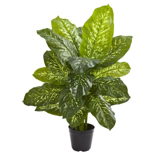 Nearly Natural Indoor 34 in. Dieffenbachia Artificial Plant 6339
