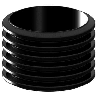 24 in. x 18 in. Septic Tank Riser Pipe with Safety Barrier