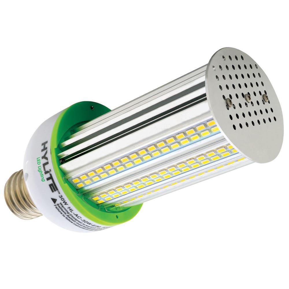 30W Arc-Cob LED Lamp 150W HID Equivalent 5000K 4200 lumens Ballast Bypass 120V-277V E39 BaseIP 65 UL&DLC Listed (1-Bulb)