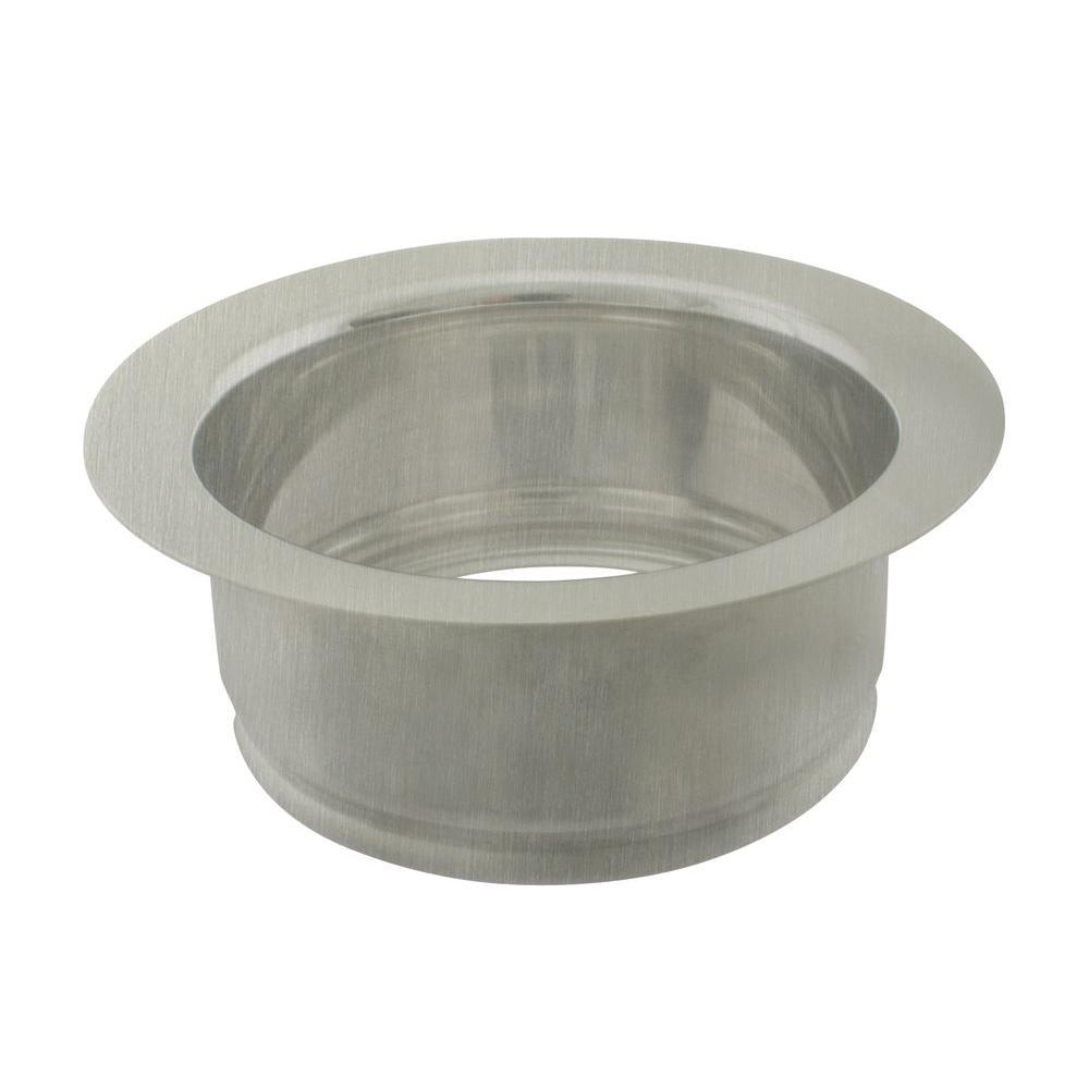 Disposal Ring in Satin Nickel