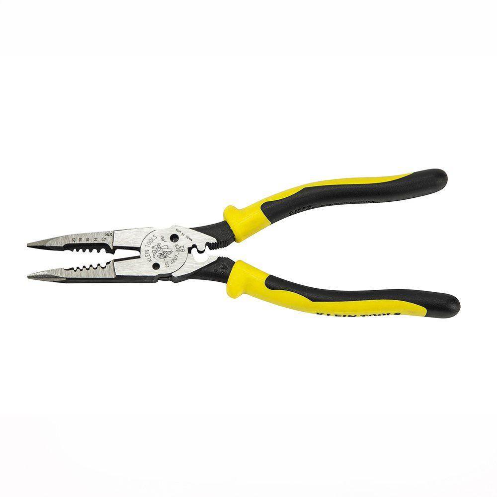 Klein Tools 8 3 8 In All Purpose Pliers With Crimper