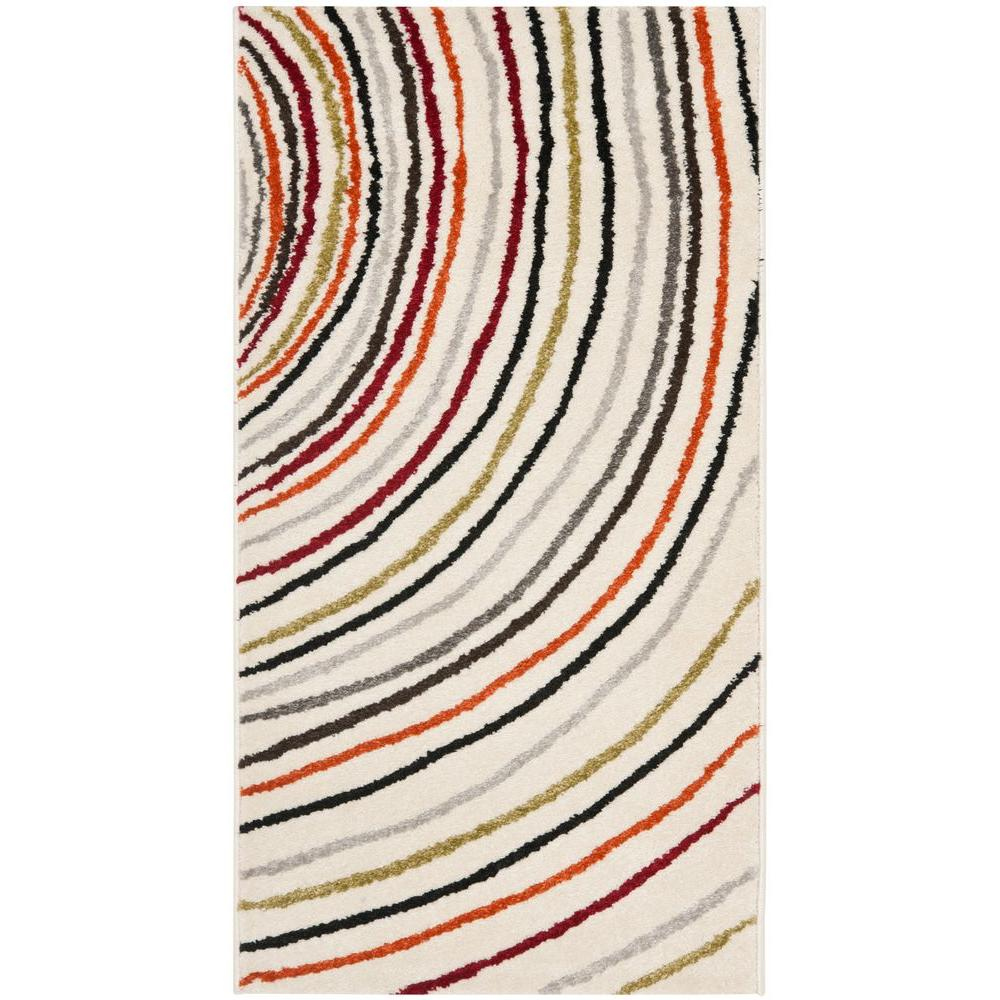 Safavieh Porcello Ivory 2 ft. 7 in. x 5 ft. Area Rug