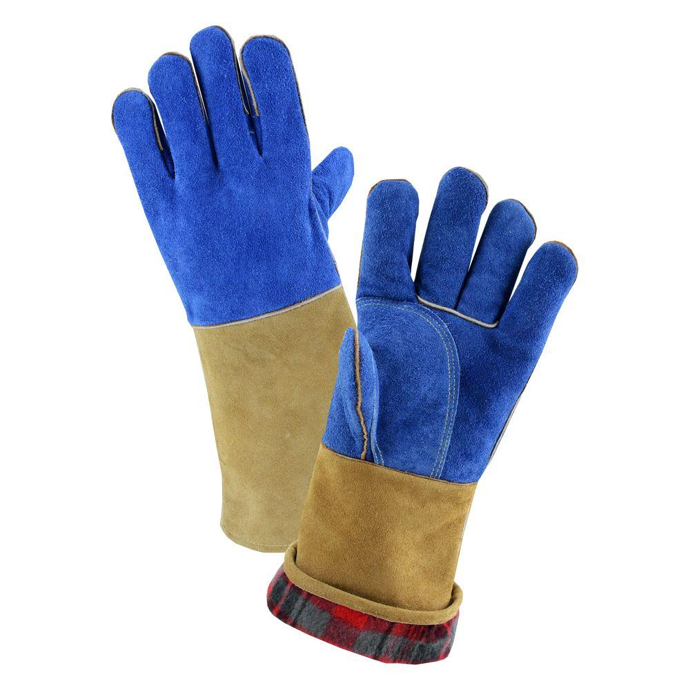 West Chester Premium Large Foam Lined Fireplace Gloves 94910 Lwqp24