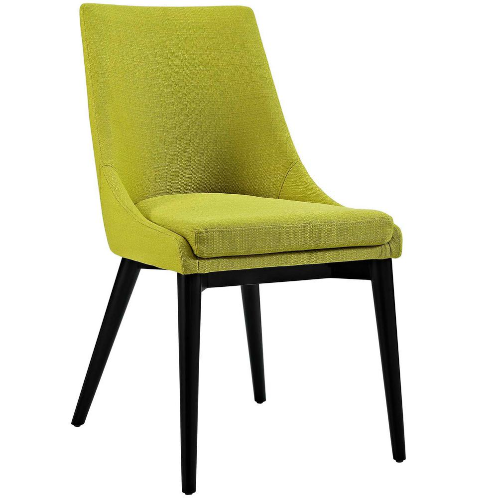 Viscount Wheatgrass (Green) Fabric Dining Chair