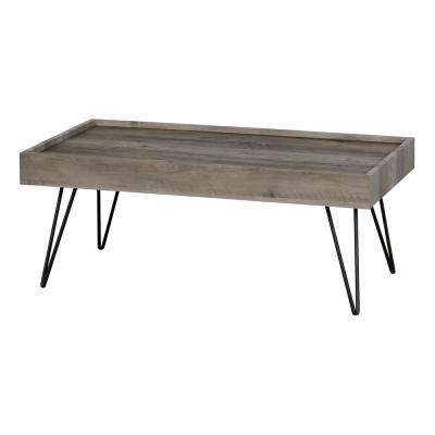 Slendel Reclaimed Oak Coffee and End Table