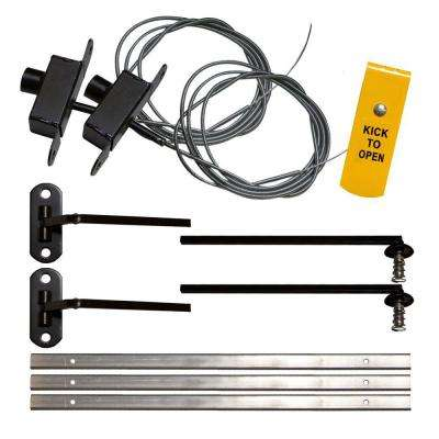 Foot-Operated Fire Release Kit for Window Guards