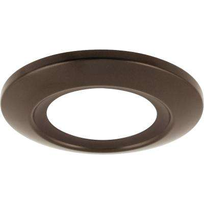 12-Watt Antique Bronze Integrated LED Flush Mount