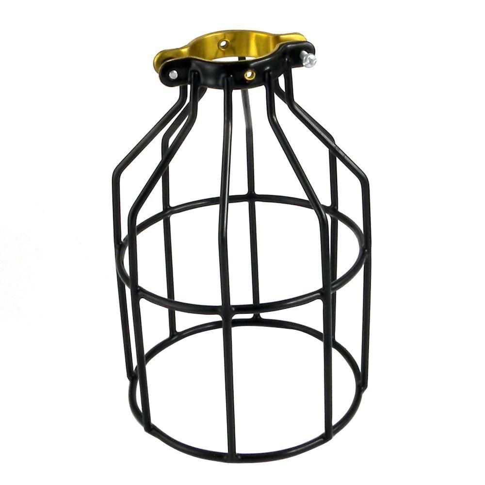 Adamax Metal Lamp Guard Wlg1b The Home Depot