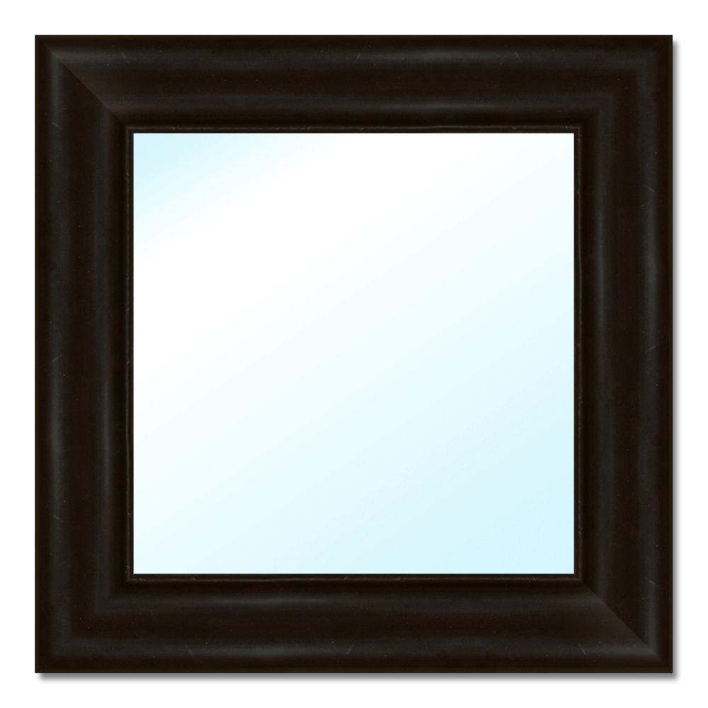 Home Decorators Collection 17 5 In W X 17 5 In H Polystyrene Framed Mirror 6 0517 The Home Depot