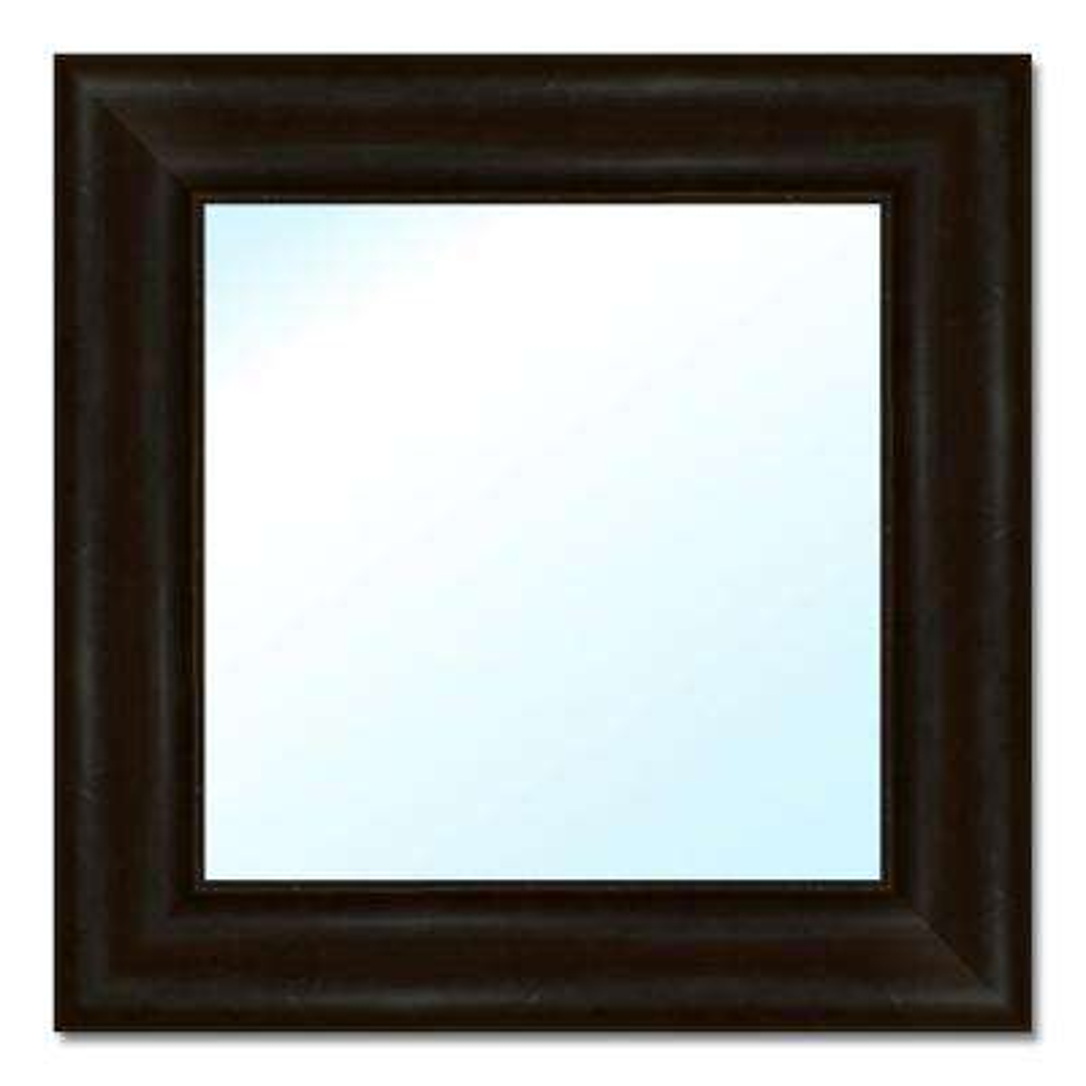 17.5 in. W x 17.5 in. H Polystyrene Framed Mirror
