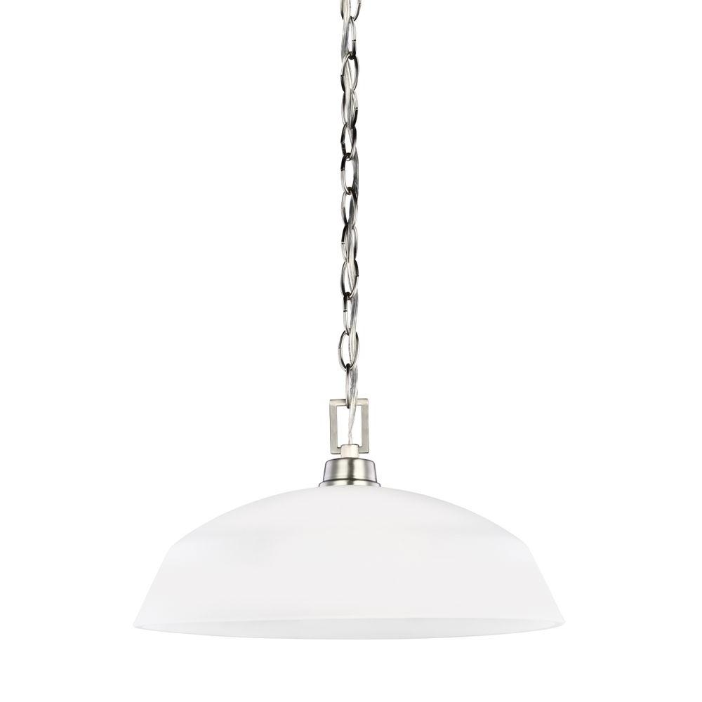 Kerrville 1-Light Brushed Nickel Pendant