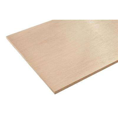 3/4 in. x 4 ft. x 4 ft. Europly Maple Plywood Project Panel (Free Custom Cut Available)