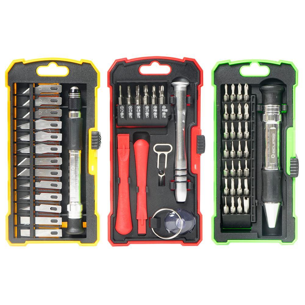 3-Pack Precision Hobby and Repair Set