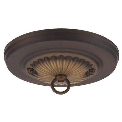 5 in. Oil Rubbed Bronze Traditional Canopy Kit Hampton Bay Milton Ceiling Fan Wiring Diagram on