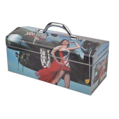 16 in. Warbird Pinup Girls Yankee Art Tool Box