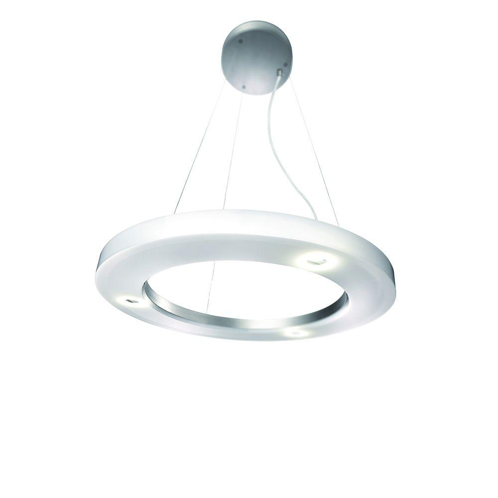 Cinta 3-Light Brushed Nickel Hanging Pendant