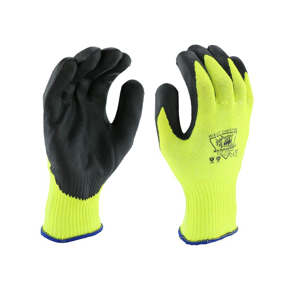 Barracuda Barracuda Men's Medium A8 Cut Resistant Industrial Glove, Yellow