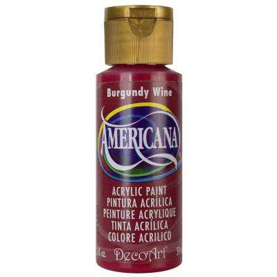 Americana 2 oz. Burgundy Wine Acrylic Paint