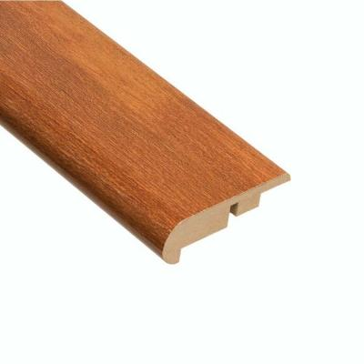 High Gloss Pacific Cherry 11.13 mm Thick x 2-1/4 in. Wide x 94 in. Length Laminate Stair Nose Molding
