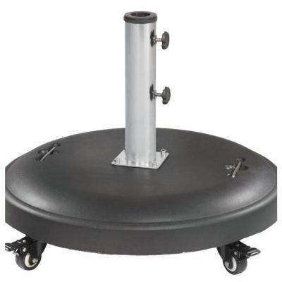110 lbs. Patio Umbrella Base in Black