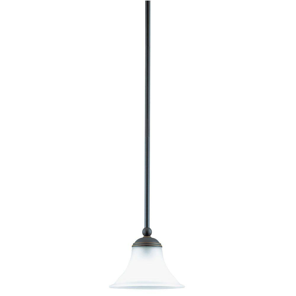 Westinghouse 67017 Weathered Bronze Contractor s Choice Mini Pendant from the