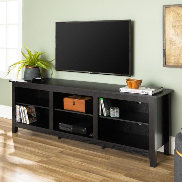 """47/"""" TV Stand Entertainment Center Drawers Console Media Storage Cabinet Wood NEW"""