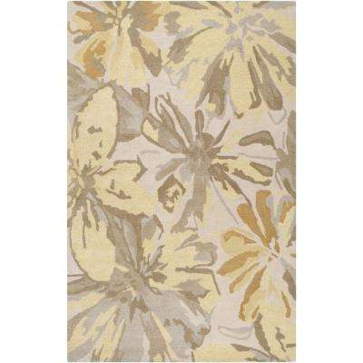 Amaranthus Butter 10 ft. x 14 ft. Indoor Area Rug