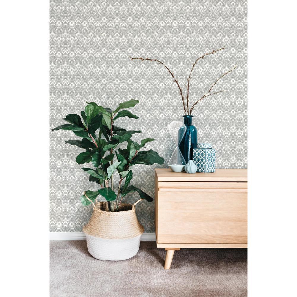 56 sq. ft. Chalet Wallpaper