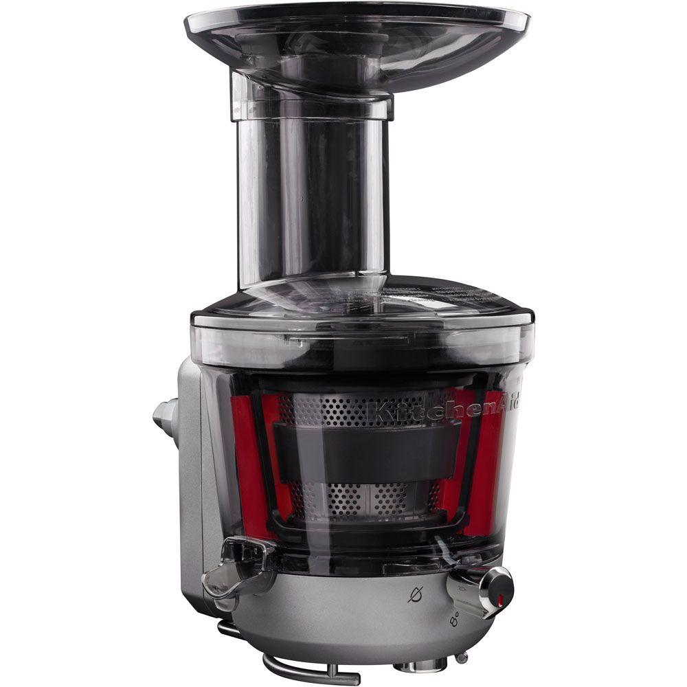 kitchenaid stand mixer juicer and sauce attachment ksm1ja the home rh homedepot com kitchenaid juicer attachment review kitchenaid juicer attachment review