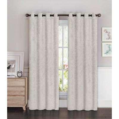 curtain thermal curtains cotton top blend triple stripes galleria by two shop insulated linen and panels layer pass tonal elegant of pair contemporary gray grommet set foam back blackout