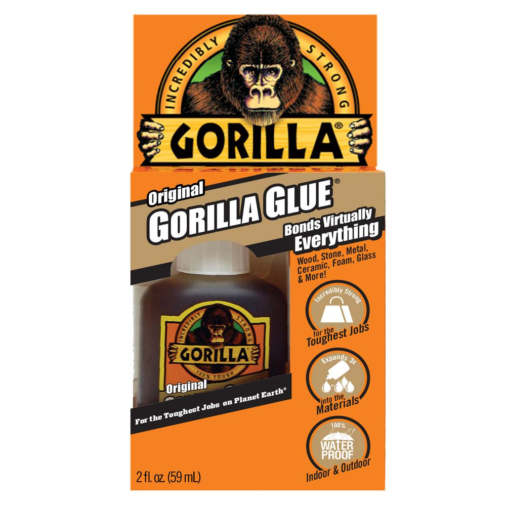 Gorilla Glue Review >> Gorilla 2 Oz Original Gorilla Glue