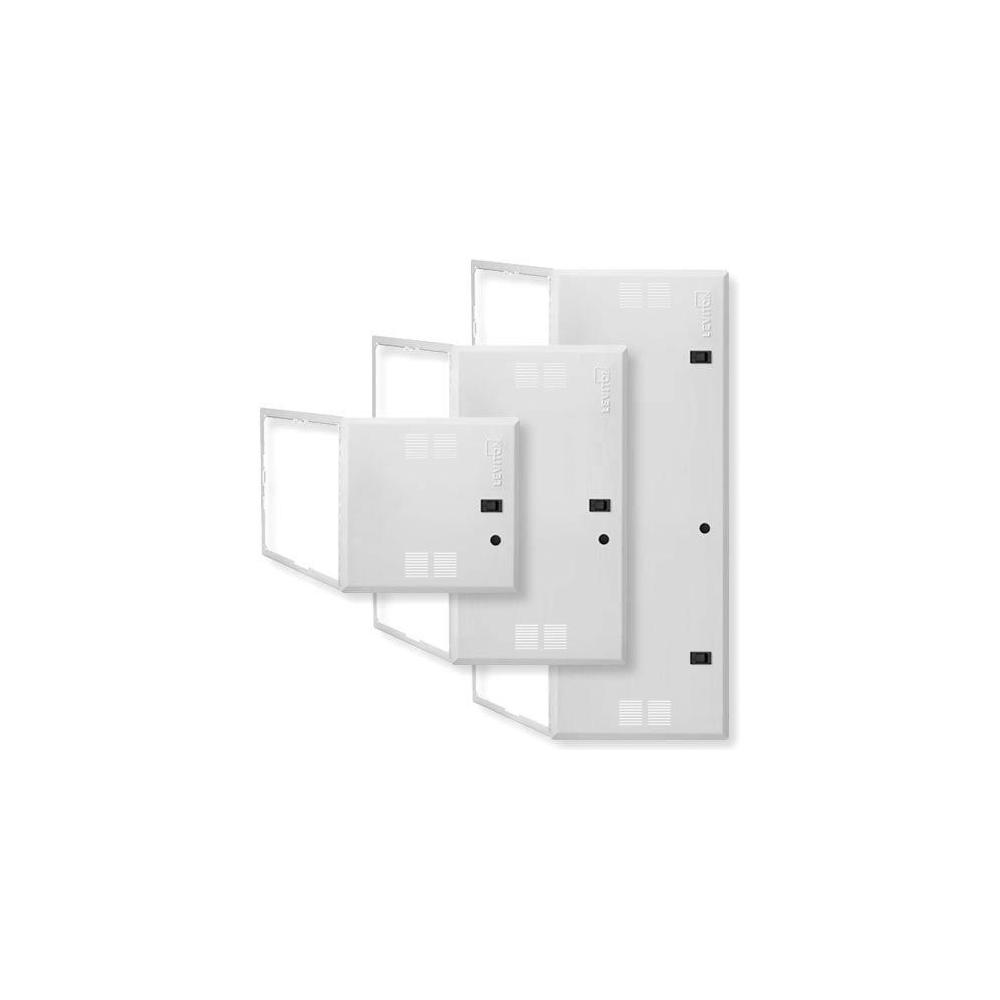 Leviton 28 In Structured Media Enclosure White 47605 28n The Wiring Panel Design 42 Premium Vented Hinged Door For Use With