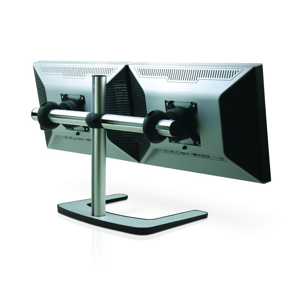 Exhibition Stand Lighting Home Depot : Atdec visidec vfs dh freestanding double horizontal