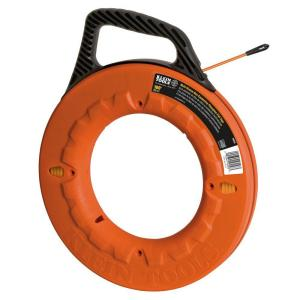 Klein Tools 100 ft. Multi-Groove Non-Conductive Fiberglass Fish Tape by Klein Tools
