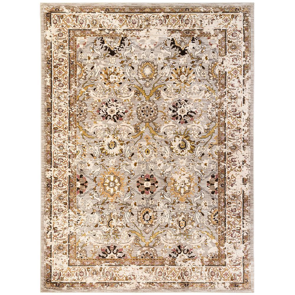 Karastan wander seine silver 5 ft x 8 area rug