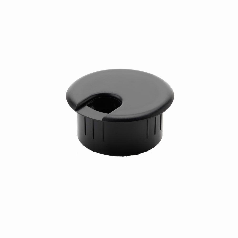 2 in. Furniture Hole Cover, Black