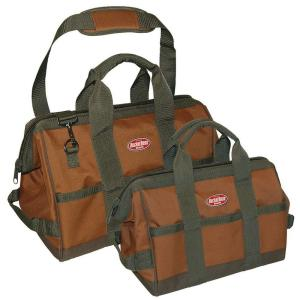 Bucket Boss Gatemouth Combo 12 inch and 16 inch Tool Bag by Bucket Boss