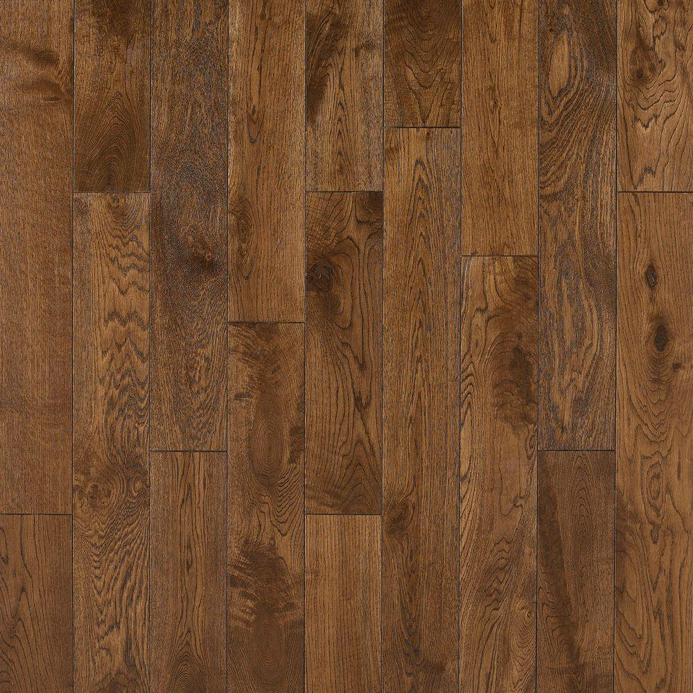 Nuvelle french oak cognac 5 8 in thick x 4 3 4 in wide x for Home hardwood flooring