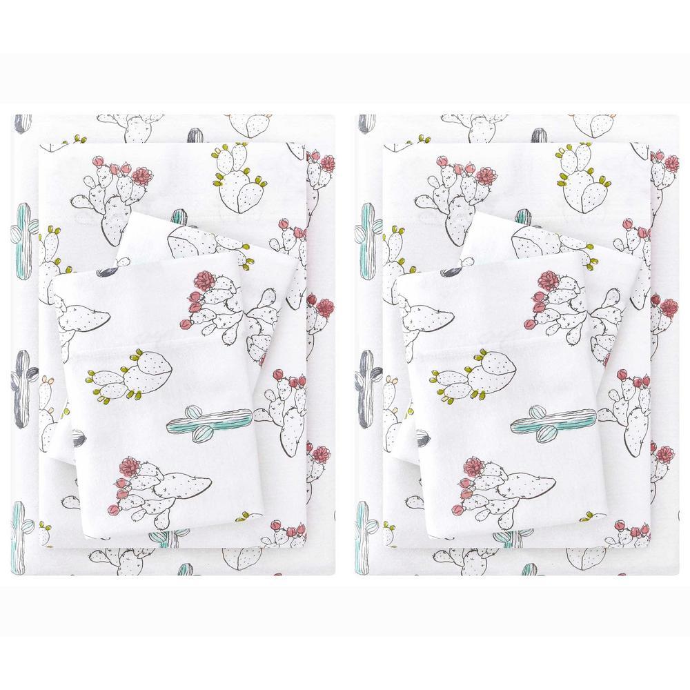 Printed Jersey Knit Sheet Set (Set of 2)