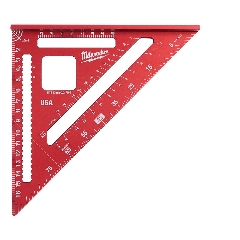Milwaukee 180 Mm Rafter Square Mlsq170 The Home Depot