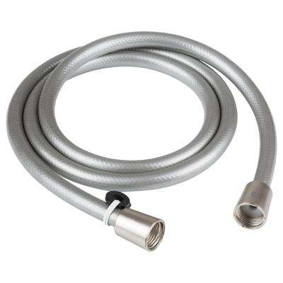 60 in.  Vinyl RV Shower Hose in Brushed Satin Nickel