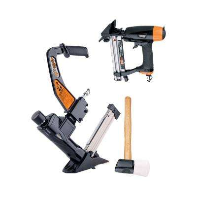 Professional Pneumatic Flooring Nailer Kit (2-Piece)