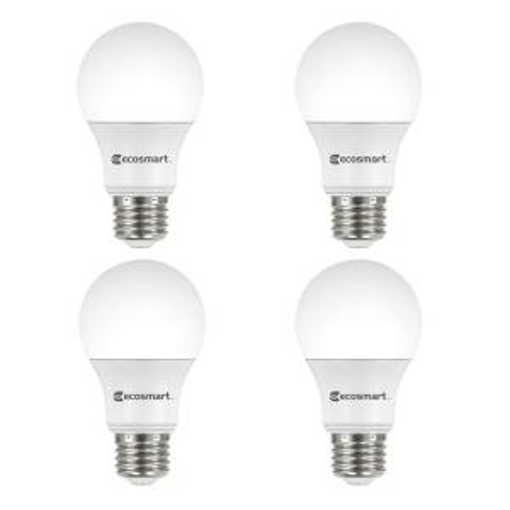 60-Watt Equivalent A19 Dimmable Energy Star LED Light Bulb Daylight (4-Pack)