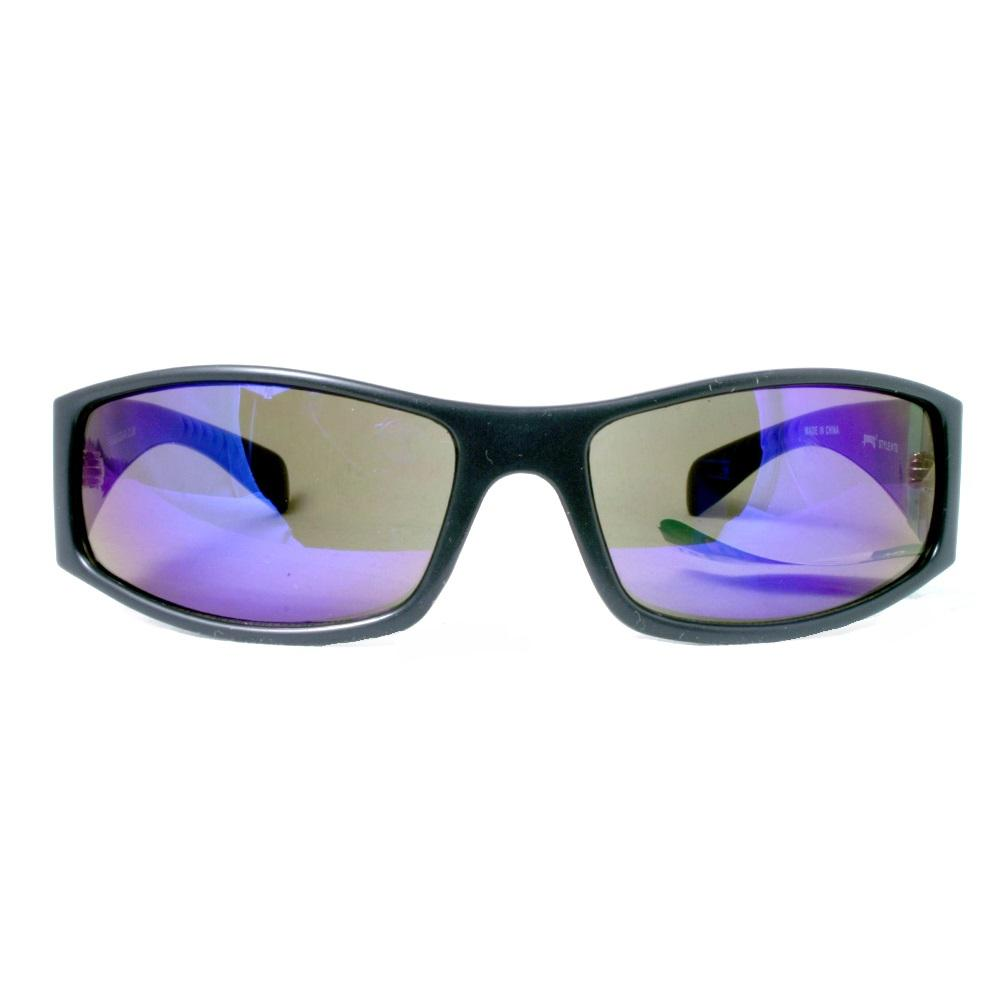93638ae383 Men s Squared Off Thick Full Frame with Polycarbonate Lens and Recessed Logo