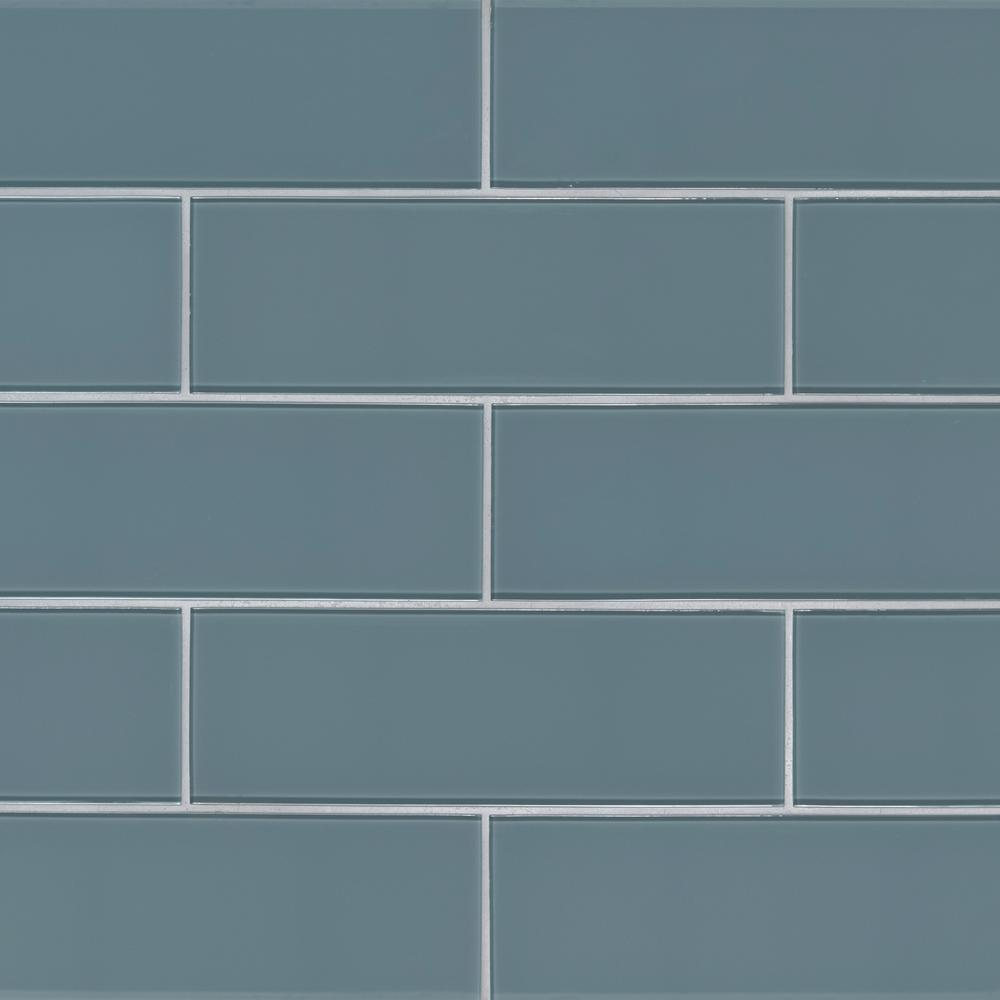 X 12 In Textured Gl Wall Tile