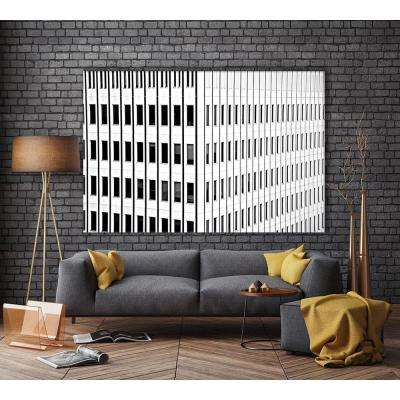 """48 in. x 72 in. """"Buildings IV"""" by Peter Morneau Printed Framed Canvas Wall Art"""