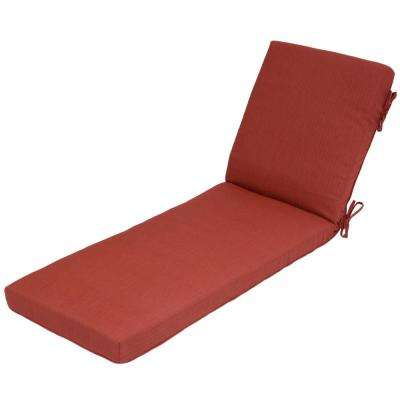 CushionGuard Chili Deep Seating Outdoor Chaise Lounge Cushion