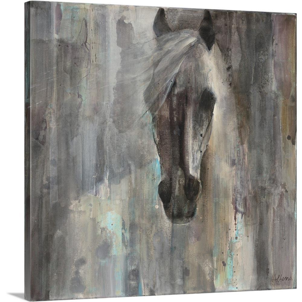 "36 in. x 36 in. ""Shadow"" by  Albena Hristrova Canvas Wall Art"